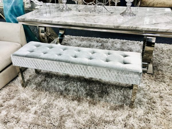Majestic Bench HQ Brushed Silver