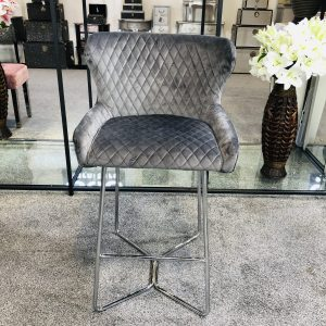 Osaka Grey Bar Stool