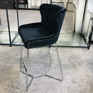 Osaka Black Bar Stool