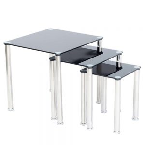 Crystal Nest of Tables