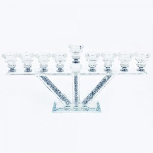 Crystal Crushed Candle Holder