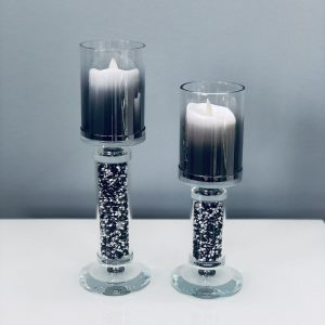 Crystal Candle Holder Small + Large