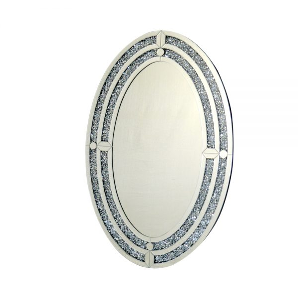 Crushed Wall Mirror