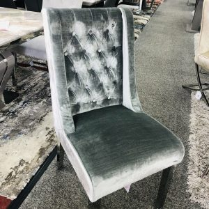 Kyoto Silver Dining Chair