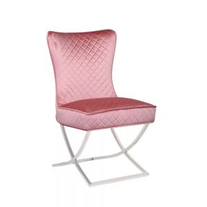 Rome Pink Dining Chair