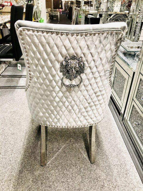 Majestic High Quality Silver Dining Chair