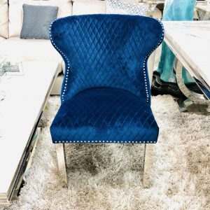 Valentino Navy Dining Chair