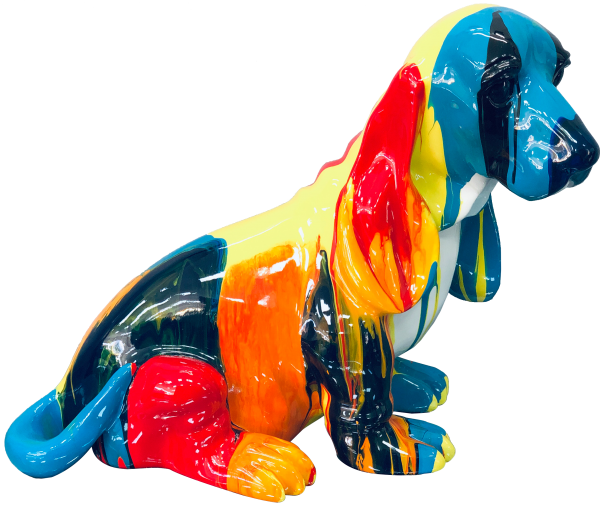 Coloured Dog