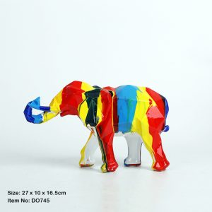 Multi Colour Elephant
