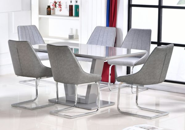 Tenerife Table with 6 Chairs