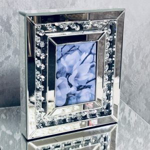 Floating Crystal Large Photo Frame