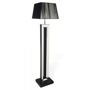 London Black Floor Lamp