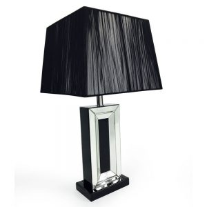 London Black Table Lamp