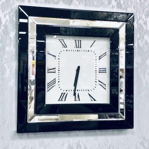 London Black Wall Clock