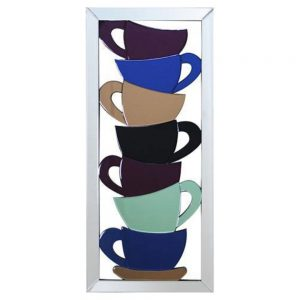 Coloured Cups Frame