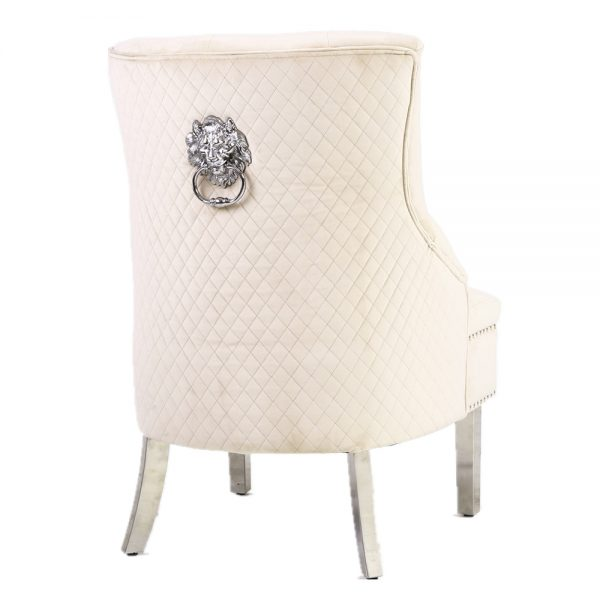 Majestic Mink Wing Chair
