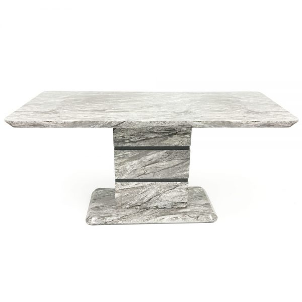Roseberry Dining Table (Marble Effect)